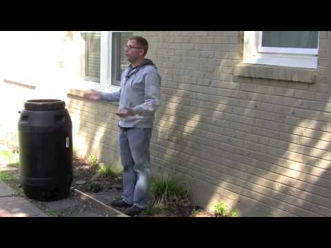 Can you use a rain barrel with no gutters?