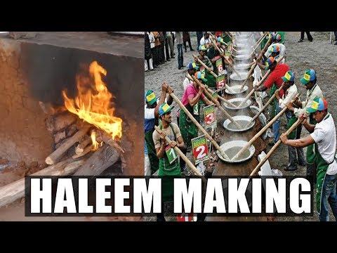 #Haleem Making | Hyderabadi Haleem Recipe | Chicken Haleem | Popular Dish in Islamic Countries