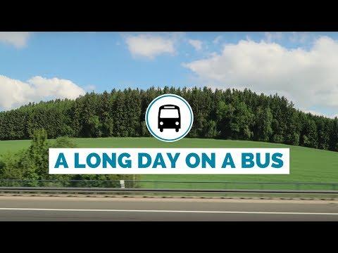 Europe bus trip from Germany to Hungary travel vlog (Nuremberg to Prague to Budapest)