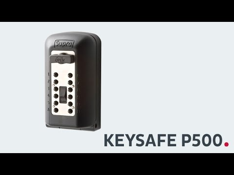 KeySafe P500, Schlüsselbox, Schlüsselsafe, Sicherheitszertifikat, Kidde, Supra