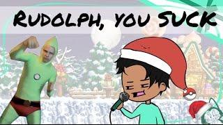 Singing Rudolph Lyrics Incorrectly (poor iDubbbz impression)