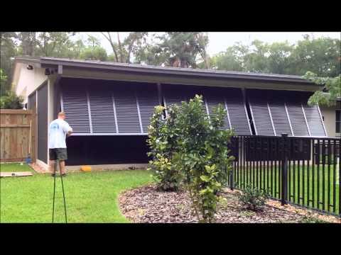 Bahama Shutters for Exterior Windows