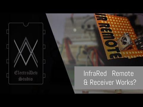 Infrared transmitter and receiver with arduino.