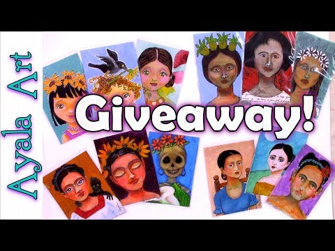 ACEO art giveaway by AyalaArt