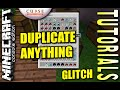 Minecraft PS4 - DUPLICATE ANYTHING GLITCH - Tutorial ( XBOX )