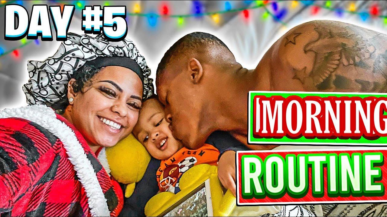 VLOGMAS DAY 5: THE PRITCHETT FAMILY MORNING ROUTINE ❤️