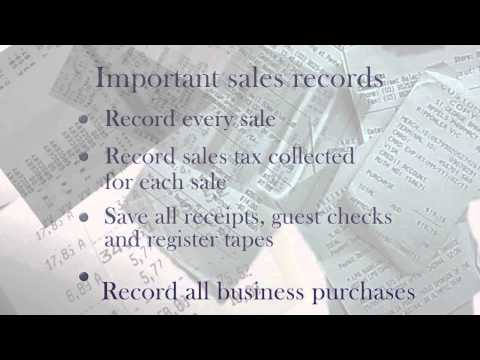 NYS Sales Tax Record Keeping Requirements