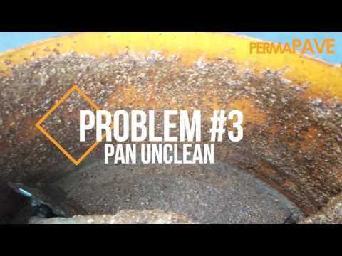 How NOT To Clean & Return a Hired Forced Action Mixer After Resin Bound Gravel Work - PermaPave
