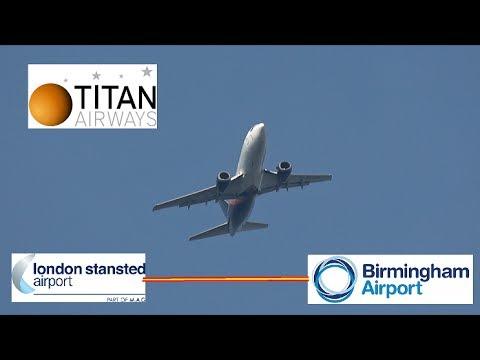 Titan Airways Flight 664 (London Stansted to BHX)