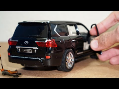 Unboxing of Lexus LX 570 - Diecast Model Car 1:24 Scale