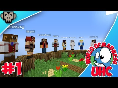 World Of Madness UHC | Episode One | Command Block Fails!