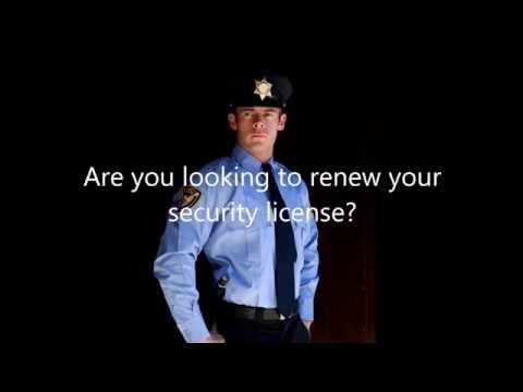 Security Renewal Training