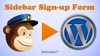 Sign Up To Mailchimp Add A Mailchimp Email Signup Form In A Wordpress