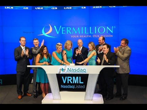 Vermillion Rings the NASDAQ Closing Bell with Shannon Miller and Sherry Pollex