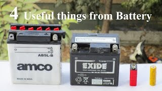Download 4 Useful things from Battery - 4 Compilation battery Video