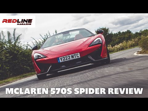 McLaren 570S Spider Road Test - Insanely FAST Sports Series McLaren tested!