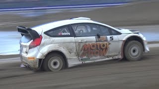 CRAZY 16-Year-Old Oliver Solberg Goes FLATOUT Driving a Ford Fiesta WRC!