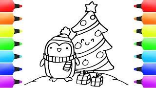 How To Draw Christmas Stuff For Kids Christmas Reindeer Xmas Drawing