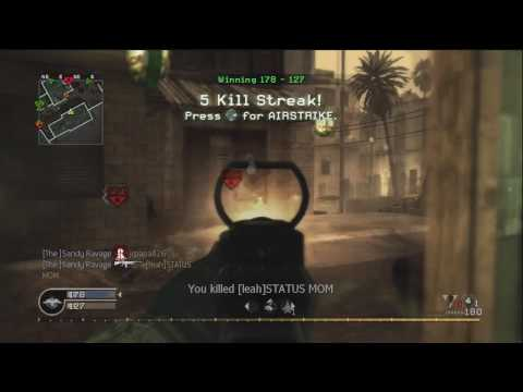 Sandy Ravage Cod 4 Gameplay 10/15/09