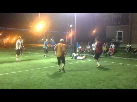 2014 Dayton Men's Soccer - Team-building Exercise