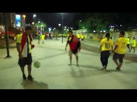 Let's make friends with football !! Brazil