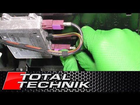 How to Remove Antenna Amplifier (AVANT) - Audi A6 S6 RS6 - C5 - 1997-2005 - TOTAL TECHNIK