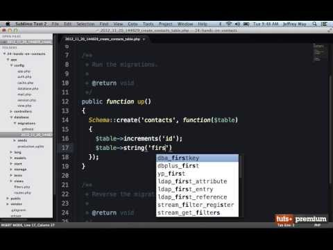 Backbone JS Hands On Contacts Manager Laravel Setup - 25 tutsplus