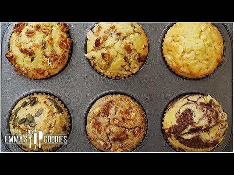 Muffin Recipe - Create 6 Fall Flavors Using One Recipe
