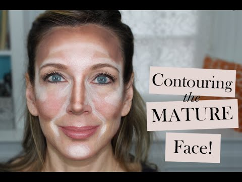 How to Contour the Mature Face | Contouring & Highlighting Tutorial