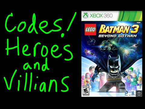 LEGO BATMAN 3 How to unlock superhero   villians guide