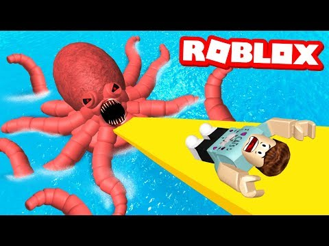 ESCAPE THE WATERPARK OBBY IN ROBLOX