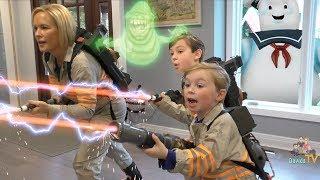 Ghostbusters Kids Parody Skit with Playmobil Toys
