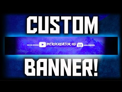(2018) How to Make a FREE CUSTOM YouTube Banner! Easy! (A PicMonkey Tutorial) | IntroCreator HD