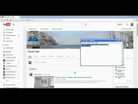 How to change youtube video custom thumbnail easy 2014