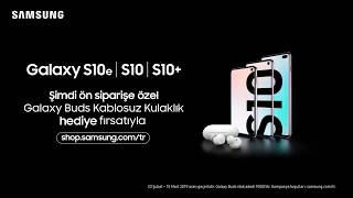 Download Şimdi Ön Siparişte! Yeni Galaxy S10 Video