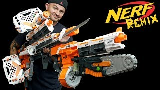 Nerf REMIX   Nerf ZOMBIE Strike FlipFury Blaster