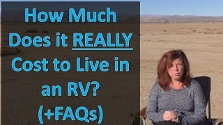 RV Living: How Much It REALLY Costs to Live in an RV  (and FAQs answered)