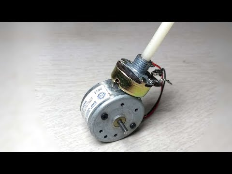 Awesome Idea  DC motor speed controller/Regulator |how to make|