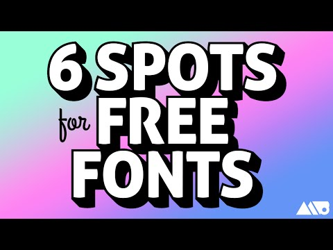 Where to Find Free Commercial Use Fonts