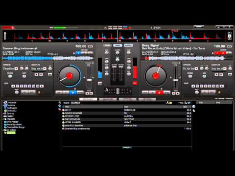 How to mix Dancehall songs using virtual Dj