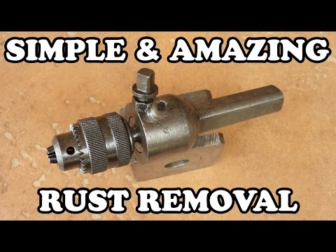 Homemade Rust Removal