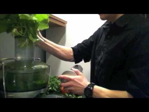 Delicious Energy Filled Green Juice Recipe Episode 1