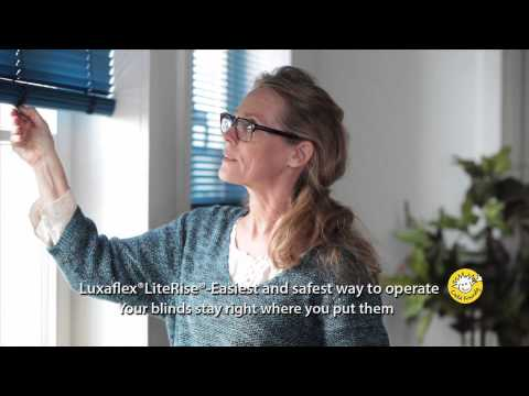 Luxaflex® Venetian Blinds - LiteRise® – Easiest and safest way to operate