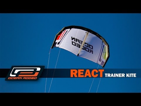 Ocean Rodeo React - 4 Line Trainer Kite & Trainer Harness Bag