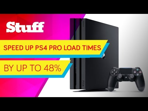 How to cut your PS4 Pro load times by half