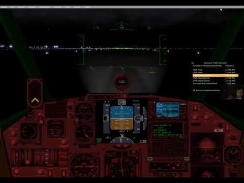 XPlane 10 - Flight 14 - Vancouver to Yellowknife - X Wing BKC Spaceship