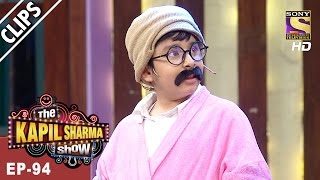 Udbhav gives Kapil a taste of his own medicine, literally - The Kapil Sharma Show - 1st Apr, 2017