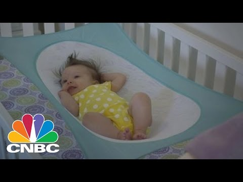 Crescent Womb Baby Hammock Mimics Womb And Helps Reduce Risk Of SIDS | CNBC