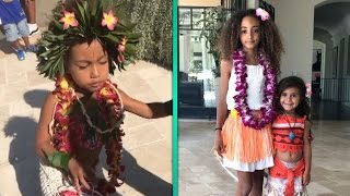Go Inside North West and Penelope Disick