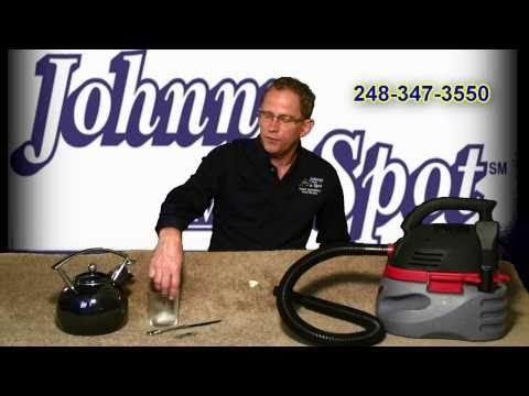 Remove gum and wax from your carpets! by Johnny on the Spot
